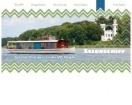Bild Webseite Salonschiff MS Marple Liegeplatz Insel Lindwerder Berlin