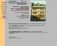Website Gaststätte Restaurant - Hochzeitshaus