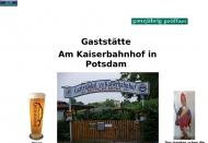 "Bild Gartenlokal ""Am Kaiserbahnhof"""