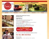 Running Sushi M?nchen, Japanisches Restaurant Tsuki Ji am Goetheplatz