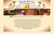 Bild Webseite Restaurant Osteria dell 'arte Berlin