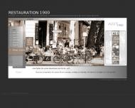 Bild Webseite Gaststätte Restaurant - Restauration 1900 Berlin