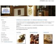 Bild Webseite Adler Gasthof und Pension Oberreute