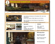 Website Restaurant Goldener Anker