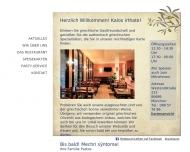 Bild Webseite Athen München