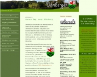 Website Dönberger Krug