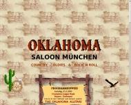 Bild Webseite Oklahoma Country Saloon München
