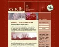 Bild Webseite Estrella Gastronomiebetriebe Hannover