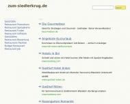 Bild Webseite Gaststätte Restaurant - Siedlerkrug Düsseldorf