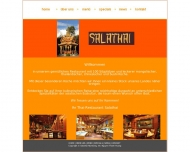 Bild Webseite Salathai Restaurant Nürnberg
