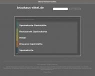 Bild Webseite Brauhaus Rittel Gaststätte Düsseldorf