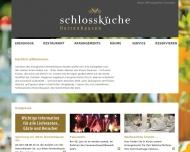 Bild Webseite Schlossgastronomie Herrenhausen Hannover