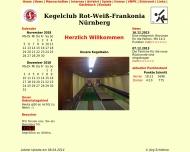 Bild Webseite Gaststätte Restaurant - Zum Krähenwald Nürnberg