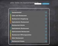 Bild Webseite Kastanienhof Alte Liebe München