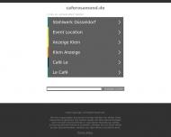 Bild Webseite Café Rosa Mond KommunikationsZentrum für Lesben u. Schwule Düsseldorf