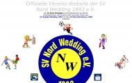 Bild Webseite SV Nord Wedding1893 Berlin