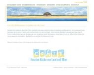 Bild Webseite Restaurant Coast Sylt-Ost