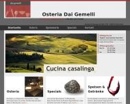 Osteria Dai Gemelli - traditionelle, italienische K?che