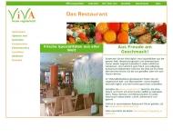 Bild Webseite Gaststätte Restaurant - Viva Karlsruhe