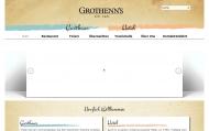 Bild Webseite Grothenn's Gasthaus Bremen