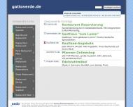Bild Webseite Gatto Verde Düsseldorf