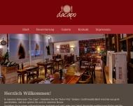 Bild Webseite Da-Capo Gastronomiebetriebe Düsseldorf