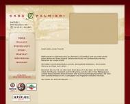 Bild Webseite Casa Palmieri Restaurant Pizzaria Düsseldorf
