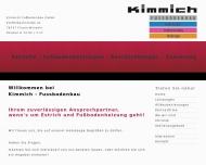 Website Kimmich Fußbodenbau