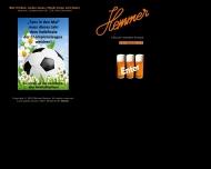 Bild Webseite Gaststätte Restaurant - Hemmer Köln