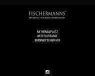 Bild Webseite Gaststätte Restaurant - Fischermanns Köln