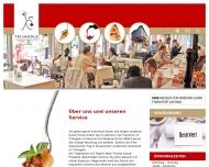 Bild Webseite Gaststätte Café - Triangolo im Museum für Moderne Kunst Frankfurt