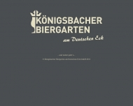 Bild Königsbacher Biergarten am Deutschen Eck GmbH