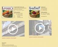 Bild Webseite Gaststätte Restaurant - Laufauf Hamburg