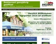 Bild Webseite Zollhaus Erlebnispark Nürnberg