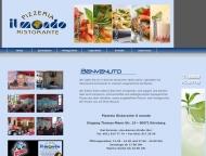 Bild Webseite Il Mondo Restaurant Nürnberg