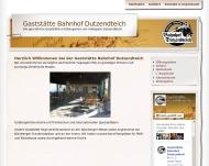 Bild Webseite Bahnhof Dutzendteich Nürnberg