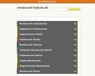 Bild Webseite Hakuin vegetarische Spezialitäten Berlin