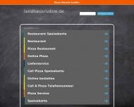Bild Webseite Landhaus Rudow Berlin