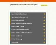 Bild Webseite Gaststätte AM STERN Duisburg