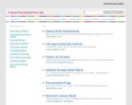 Bild Webseite Gaststätte Restaurant - Haus Rheindamm Duisburg