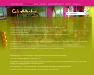 Website Gaststätte Bar - Affenbrot
