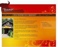 Bild Webseite E.G. Huerta Blanquez Restaurant Zum Trotzkopf Düsseldorf