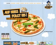 Website Hallo Pizza