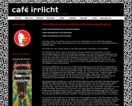 Bild Webseite Gaststätte Café - Cafe Irrlicht Schopfheim