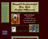 Bild Webseite  Kürnbach