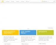 Bild Webseite McDonald's Bonn