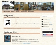 Website Haus Linde