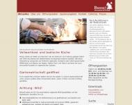Website Gaststätte Restaurant - Busse's Waldschänke