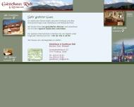 Bild Webseite Gaststätte und Gästehaus Ruh Freiburg im Breisgau