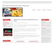 Bild Webseite Hollywood Canteen Hamburg